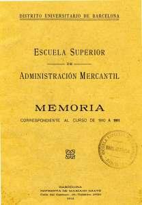 Portada Memòria 1910