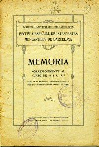 Memòria 1916-1917