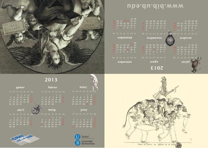 calendari 2013 sobretaula